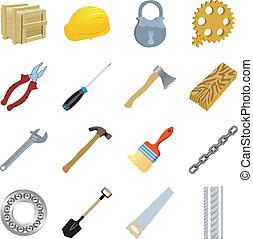 jogo, ferramentas