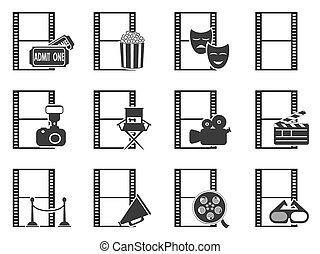 jogo filme, película, ícones