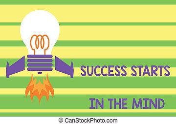 jogo, foguete, foto, mente, aquilo, ir, seu, projeto, positivity, longo, escrita, nota, mind., maneira, combustível, lançando, negócio, fogo, mostrando, base, bulbo, sucesso, começa, idea., lata, showcasing, vista superior