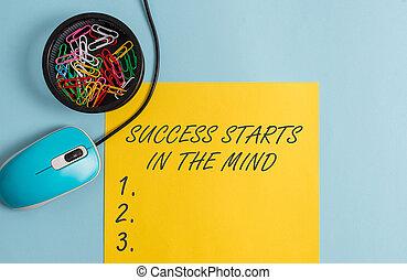 jogo, foto, mente, aquilo, dispositivos, ir, seu, pastel, positivity, longo, escrita, mind., maneira, texto, conceitual, backdrop., negócio, mostrando, mão, caderno, acima, sucesso, começa, lata, estacionário