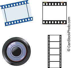 jogo, fotográfico, objetos