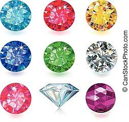 jogo, gemstone, jewerly