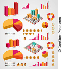 jogo, infographics, elementos