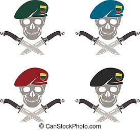 jogo, lituânia, forças especiais, sinal