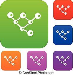jogo, molécula, estrutura, cobrança