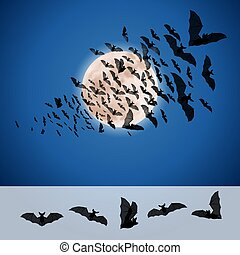 jogo, morcegos
