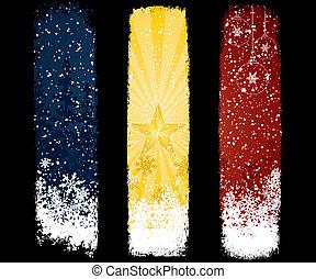 jogo, natal, bandeira