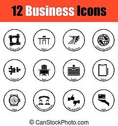 jogo, negócio, ícone