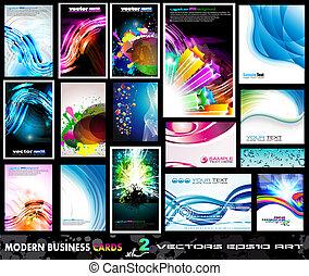 jogo, negócio, modernos, -, cobrança, 2, cartão