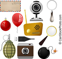 jogo, objetos