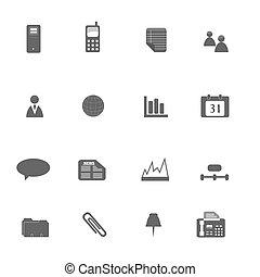jogo, silueta, negócio, ícone