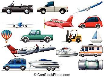 jogo, transporte, veículo