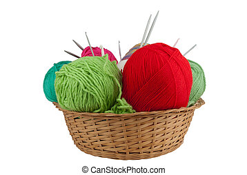 jogo, tricotando