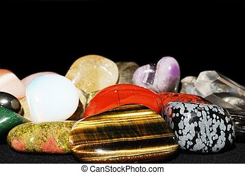 jogo, vário, gemstones