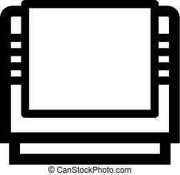 jogo, vídeo, cartucho, ícone