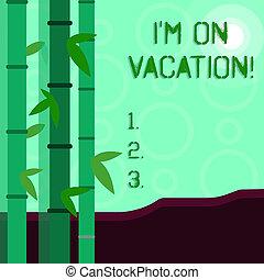 jogo, vacation., foto, beam., escrita, frondoso, tenso, negócio, sol, viagem, lua, conceitual, mundialmente, coloridos, mostrando, mão, partir, pressão, trabalho, m, ou, showcasing, bambu, redondo