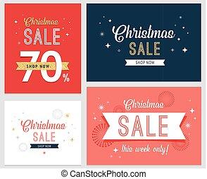 jogo, venda, fundo, desenho, modelo, bandeira, natal