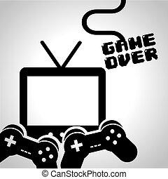jogo video, desenho