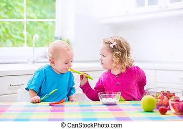 jogurt, chutnat jak, 2 dítě