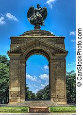 johannesburg, monumento conmemorativo, guerra, anglo-boer