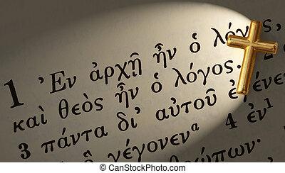 Johnn 1:1 in greek