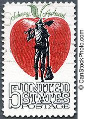(john, appleseed, アメリカ, ジョニー, -, 1966:, 1774-1845), chapman,...