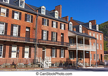 John Brown Museum in Harpers Ferry historic town, West...