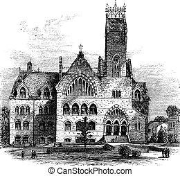 John C. Green School of Science at Princeton University in...