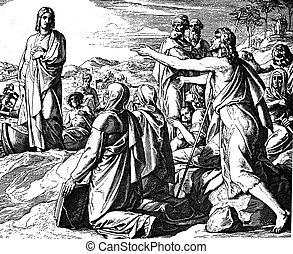 John Calls Jesus the Lamb of God 1) Sacred-biblical history...