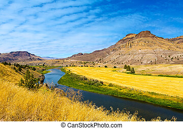 John Day River Panoramic View