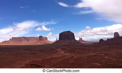 John Ford Point Monument Valley Time-lapse