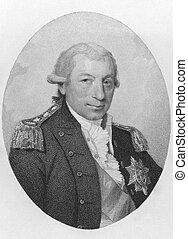 John Jervis, 1st Earl of St Vincent (1735-1823) on engraving...