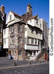 John Knox House, Edinburgh - John Knox House on Edinburgh's...