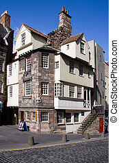 John Knox House, Edinburgh - John Knox House on Edinburgh's...
