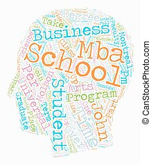 John Molson School Of Business text background wordcloud concept