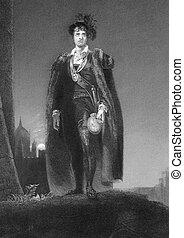 John Philip Kemble as Hamlet - John Philip Kemble...