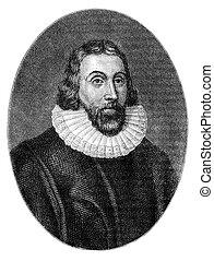 John Winthrop (1587/8-1649) was a wealthy English Puritan...