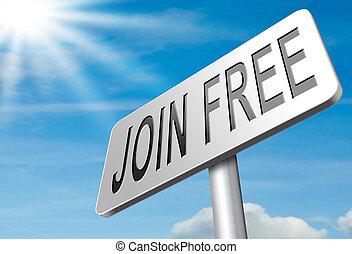 join free membership