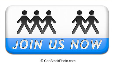 join now - Join us now and register today. Registration icon...
