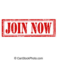 Join Now-stamp