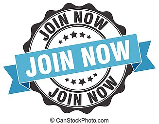 join now stamp. sign. seal