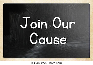 join our cause concept