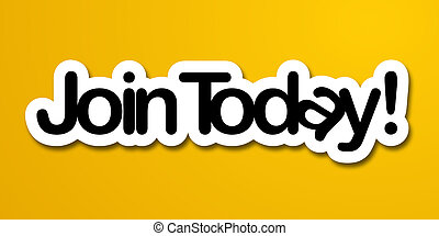 Join Today label in yellow background