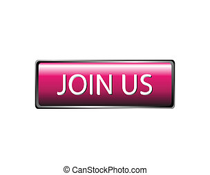 Join us button isolated