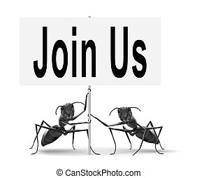 join us now - Join us now road sign and register here for ...
