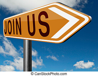 Join us sign - join us here and register now and become a ...
