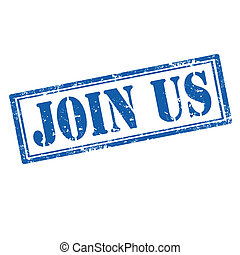 Join Us-stamp