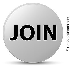 Join white round button
