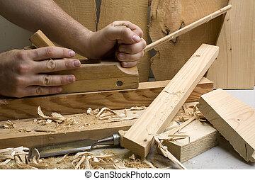 joinery, workshop, gereedschap, hout
