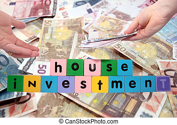 joint house investment in block letters